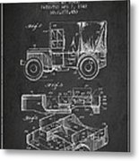 Vintage Military Vehicle Patent From 1942 Metal Print