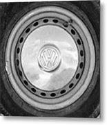 Volkswagen Vw Wheel Emblem Metal Print