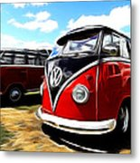 Vw Micro Bus Metal Print