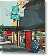 Waiting For Stevie Ray Metal Print
