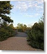 Walkways Metal Print