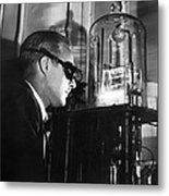 Walter Brattain, Us Physicist Metal Print