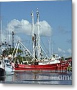 Wanchese Harbor Metal Print