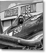 Warbird Museum Metal Print