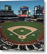 Washington Nationals V. New York Mets Metal Print