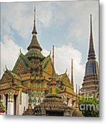 Wat Pho, Thailand Metal Print