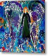 Water Angel Metal Print