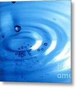 Water Drops Metal Print by Michal Bednarek