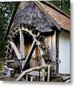Watermill Metal Print