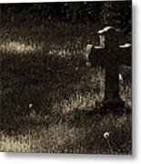 Weathered Angel Metal Print