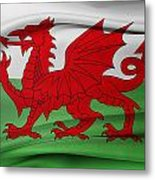 Welsh Flag Metal Print
