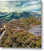 Welsh Mountains Metal Print