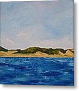 West Michigan Dunes Metal Print