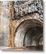 West Tunnel On Going To The Sun Road Metal Print