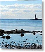 Whaleback Lighthouse Metal Print