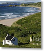 White Park Bay, Ireland Metal Print