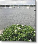 Wickford Harbor Metal Print