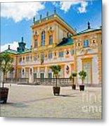 Wilanow Palace In Warsaw Poland Metal Print