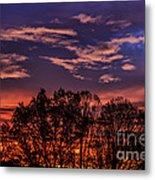 Wild West Virginia Sunrise Metal Print