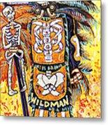 Wildman John Metal Print