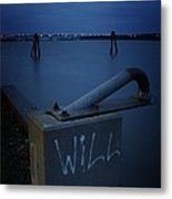 1 Will Of The Hudson 2 Metal Print