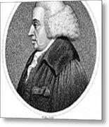 William Cullen (1710-1790) Metal Print
