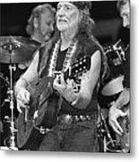 Willie Nelson Metal Print