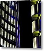 Willis Group And Lloyd's Of London Abstract Metal Print