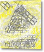 Windmill Metal Print by Joe Dillon