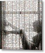 Window Dressing The Mosaic Metal Print