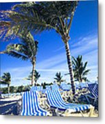 Windy Day At The Beach Metal Print