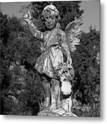 Winged Girl 8 Metal Print