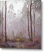 Winter At Wickham Metal Print