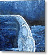 Winter Goddess Metal Print