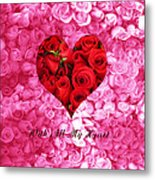 With All My Heart... Metal Print