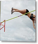 Womens Pole Vault 3 Metal Print