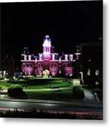Woodburn Hall At Night Metal Print