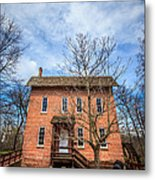 Wood's Grist Mill In Deep River County Park Metal Print