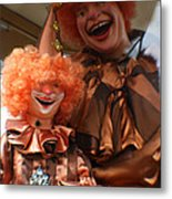 World Famous Clown From 1936 Metal Print