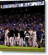 World Series - San Francisco Giants V Metal Print