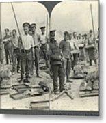 World War I Bakers Metal Print