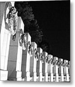World War Pillars Metal Print