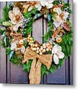 Wreath 24 Metal Print