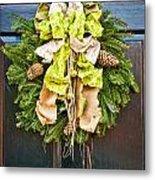 Wreath 30 Metal Print