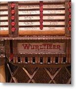 Wurlitzer Player Metal Print