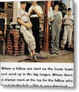 Wwii Us Poster, 1942 Metal Print