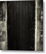 Victorian Cottage Door  Metal Print