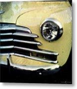 Yellow Chevrolet Metal Print