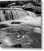 Yellow Creek Falls Great Smoky Mountains Metal Print