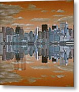 Yesterday Reflexions Metal Print